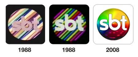 evolução marca sbt