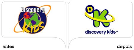 antes e depois marca discovery kids