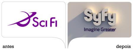 marca antes e depois scifi = syfy