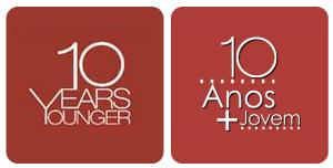 comparação marcas 10 anos mais jovem