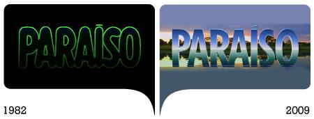marcas paraíso 1982 e 2009